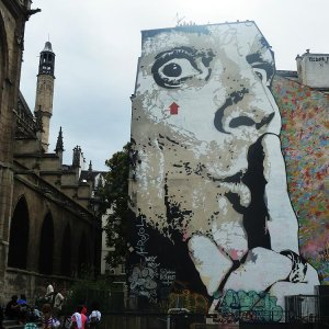 Graffiti Beaubourg Paris