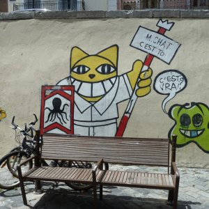 Graffiti M.Chat Sète Hérault
