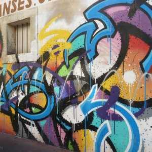 Graffiti Zest Montpellier quartier beaux-arts