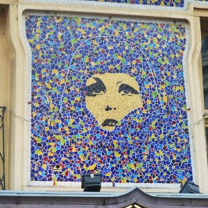 Mosaique street art Quartier St Germain Paris