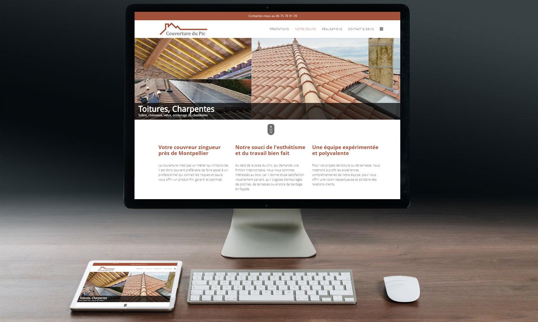 c01e60515a3 Création du nouveau site web de l entreprise Couverture du Pic